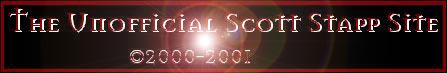 The Unofficial Scott Stapp Site Banner